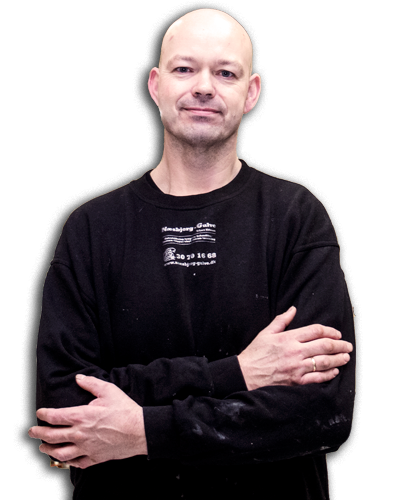 Christian Petersen, gulvlægger hos Næsbjerg-Gulve i Varde